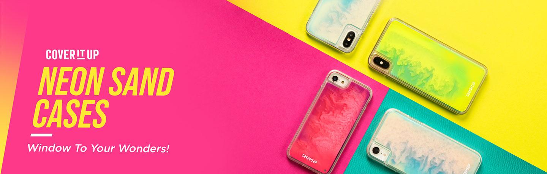 Neon Sand Glow Case