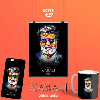Official Rajini Kabali Design
