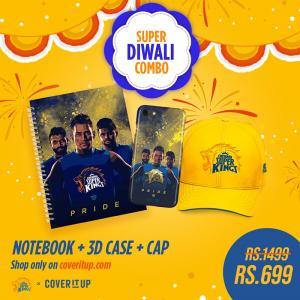 Official Chennai Super Kings CSK Super Diwali Combo