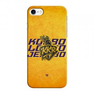 Official Real 3D Kolkata Knight Riders Korbo Lorbo Jeetbo Case