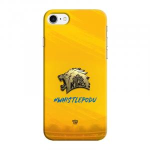 Official Real 3D Chennai Super Kings CSK Metallic Logo Case