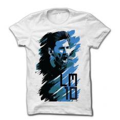 Messi Rage T-Shirt Blue
