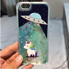 Space Glitter Unicorn Case