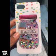 Chill Pill Glitter Case