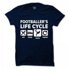 Football life-cycle T-Shirt