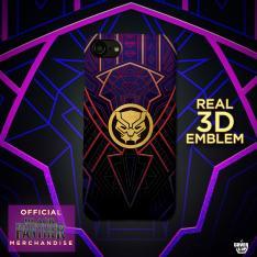 Official 3D Black Panther Logo Case