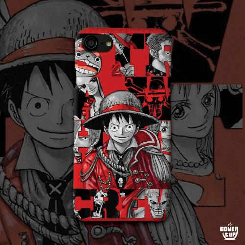 One piece luffy family case