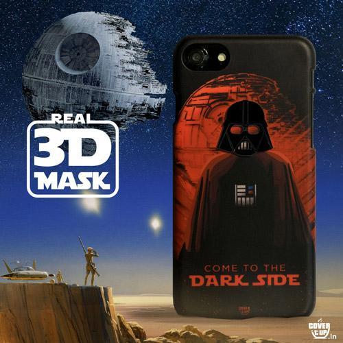 Real 3D Star Wars Vader Case