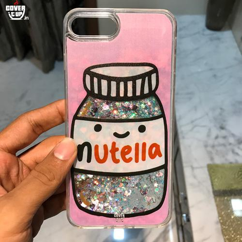 Glitter Nutella Case