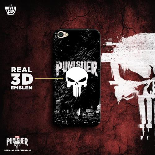 Official Punisher Real 3D Case