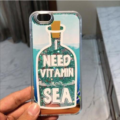 Vitamin Sea Glitter Case