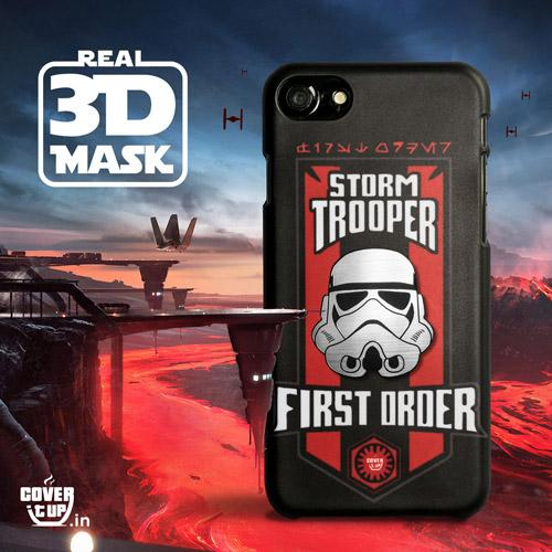 Real 3D Star Wars Storm Trooper Case