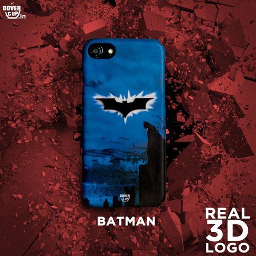 3D Real Dark Knight in Blue Case