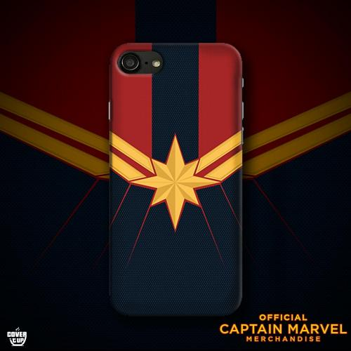Official Captain Marvel Logo Case