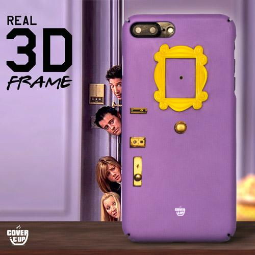 Official 3D Friends Frame Door Case