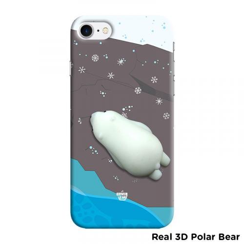 Real 3D Polar Bear Case