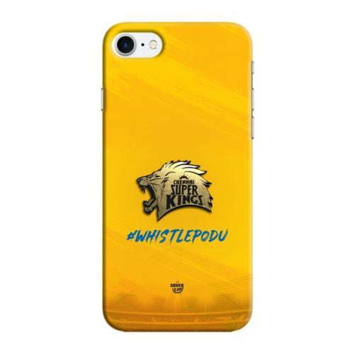 Official Real 3D Chennai Super Kings CSK Metallic Logo Case