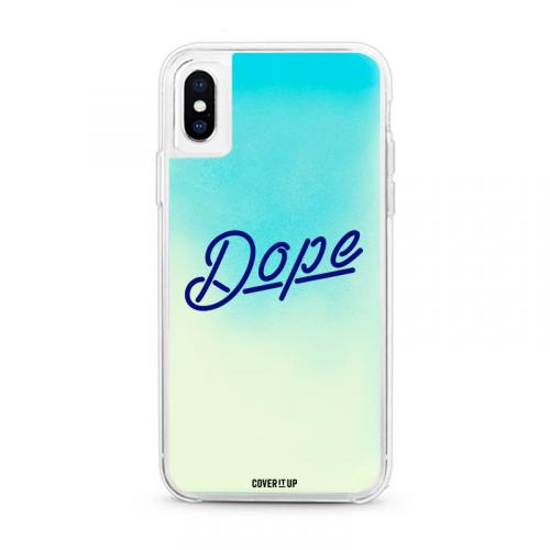 Dope Blue Lagoon Neon Sand Glow Case