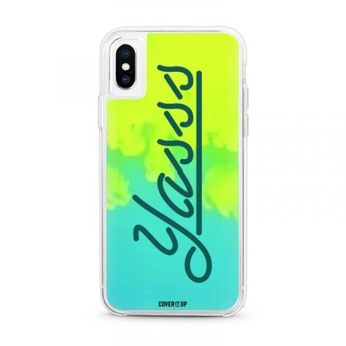 Yasss Lime Sorbet Neon Sand Glow Case