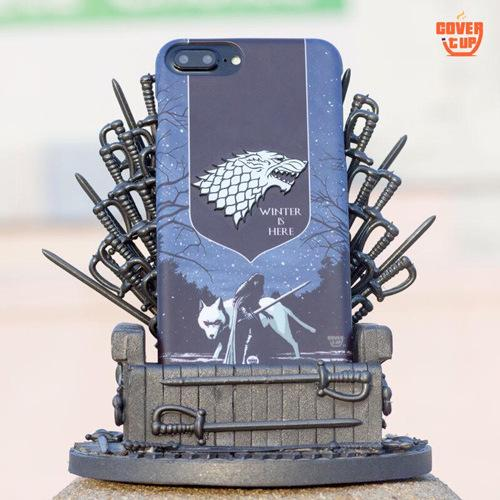 Real Metal 3D Game of Thrones Stark Case