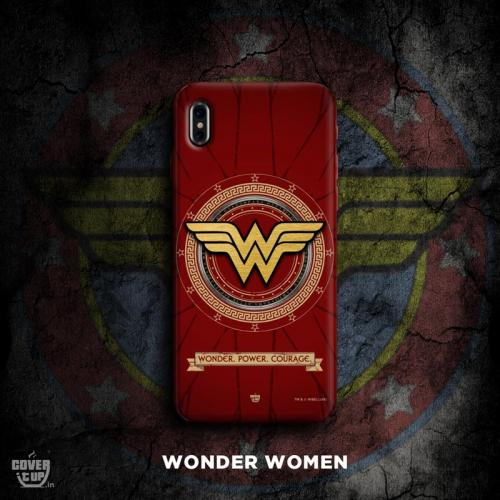 Official Real 3D Wonder Woman Logo Case
